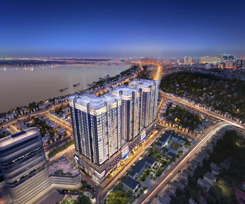 Sun Group launches luxury apartment project in Hanoi's center