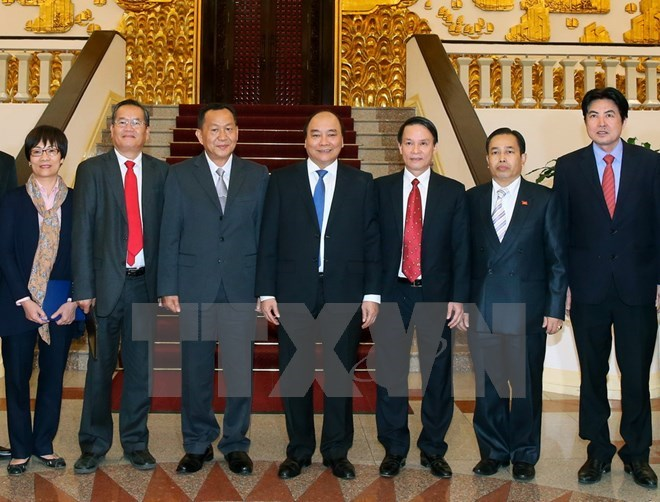PM asks Vietnamese, Lao news agencies to foster links, Government news, Vietnam breaking news, politic news, vietnamnet bridge, english news, Vietnam news, news Vietnam, vietnamnet news, Vietnam net news, Vietnam latest news, vn news