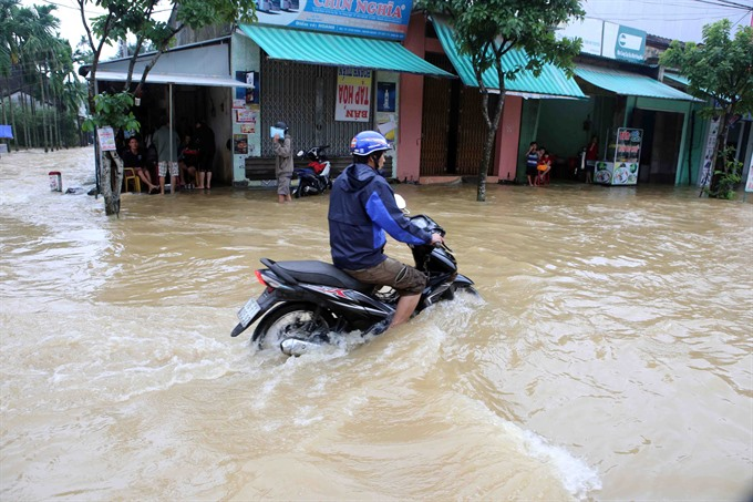 Four dead in central Vietnam flooding - News VietNamNet