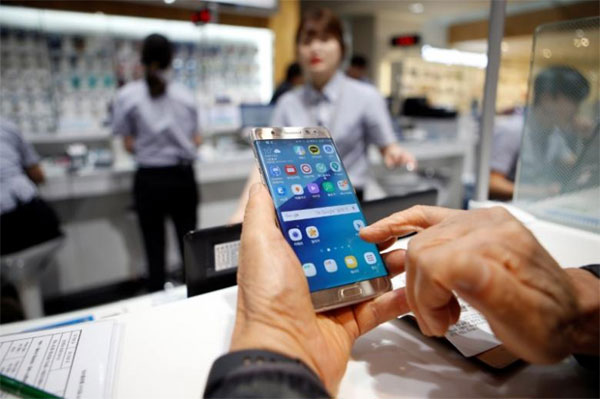Samsung to disable Note 7 phones in the U.S. via software update