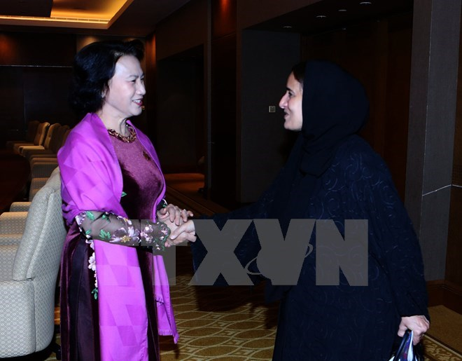 Vietnam treasures relations with UAE: NA Chairwoman, Government news, Vietnam breaking news, politic news, vietnamnet bridge, english news, Vietnam news, news Vietnam, vietnamnet news, Vietnam net news, Vietnam latest news, vn news