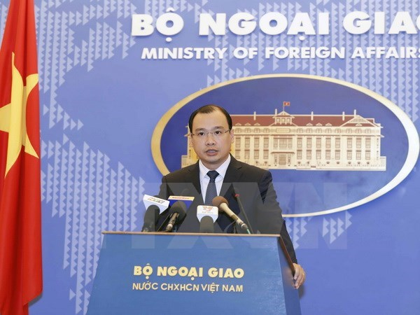 Vietnam opposes all sovereignty violations: Spokesman, Government news, Vietnam breaking news, politic news, vietnamnet bridge, english news, Vietnam news, news Vietnam, vietnamnet news, Vietnam net news, Vietnam latest news, vn news