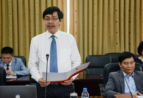 Vice rector of the Hanoi University of Technology Tran Van Top