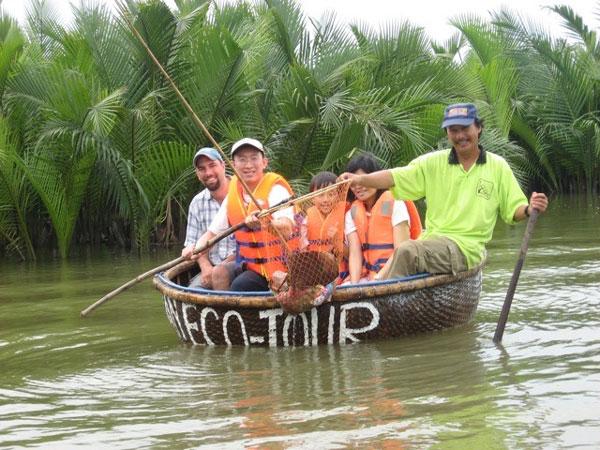 Bay Mau nipa palm forest, ecological tourism, Hoi An , Ben Tre, Vietnam economy, Vietnamnet bridge, English news about Vietnam, Vietnam news, news about Vietnam, English news, Vietnamnet news, latest news on Vietnam, Vietnam