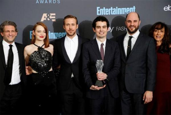 Golden Globes, 'La La Land', Oscar nominations