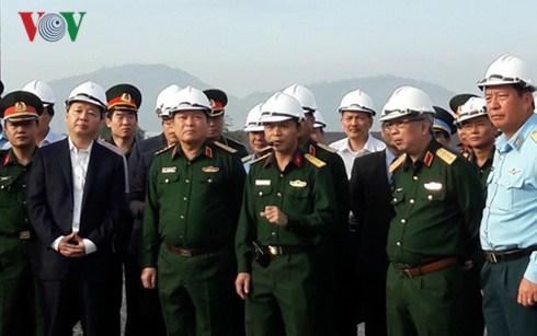 Minister inspects dioxin decontamination at Da Nang airport, social news, vietnamnet bridge, english news, Vietnam news, news Vietnam, vietnamnet news, Vietnam net news, Vietnam latest news, vn news, Vietnam breaking news