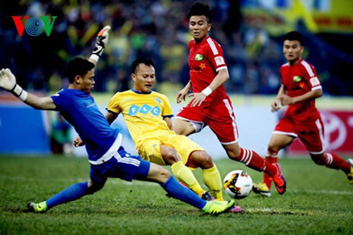 FLC Thanh Hoa crush SLNA at V.League