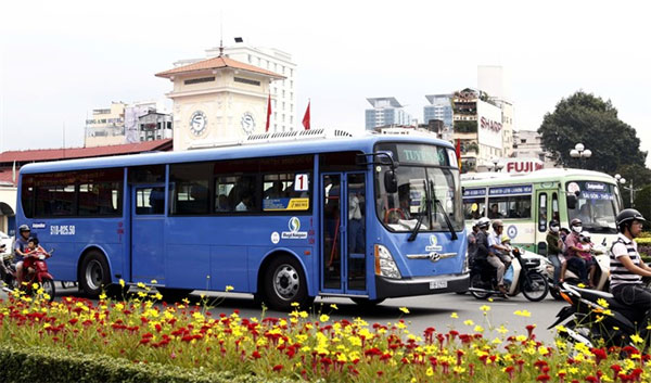 HCM City upgrades bus services