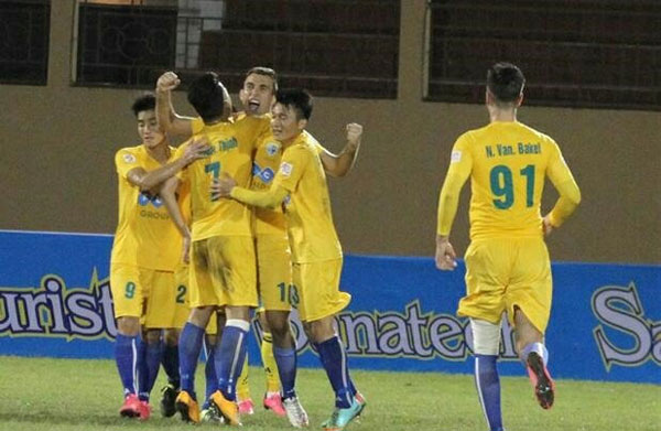 Thanh Hoa remain on top of V.League table