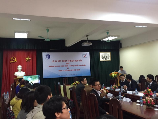 VNU-UET and VNVP9 sign cooperative agreement, social news, vietnamnet bridge, english news, Vietnam news, news Vietnam, vietnamnet news, Vietnam net news, Vietnam latest news, vn news, Vietnam breaking news
