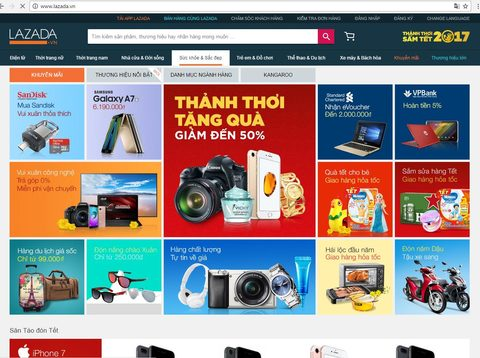 Online Tet shopping a boon for busy pros