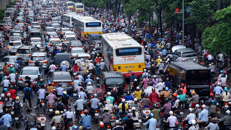 Vietnam severely behind on public transport usage, social news, vietnamnet bridge, english news, Vietnam news, news Vietnam, vietnamnet news, Vietnam net news, Vietnam latest news, vn news, Vietnam breaking news