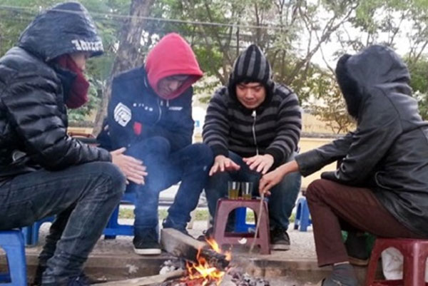 North Vietnam braces for cold weather