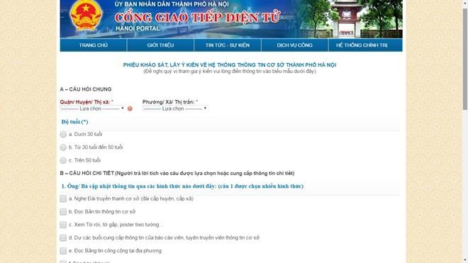Hanoi re-opens poll on loudspeaker after 3-day hiatus, social news, vietnamnet bridge, english news, Vietnam news, news Vietnam, vietnamnet news, Vietnam net news, Vietnam latest news, vn news, Vietnam breaking news