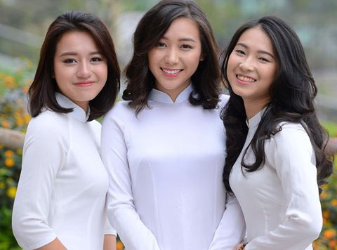 Schoolgirls wear ao dai twice a week – a must, social news, vietnamnet bridge, english news, Vietnam news, news Vietnam, vietnamnet news, Vietnam net news, Vietnam latest news, vn news, Vietnam breaking news