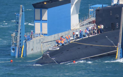 Vietnam's six Kilo-class submarines in close up