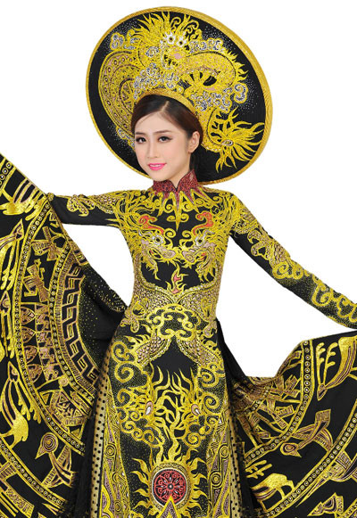 Vietnam's Thuy Duong stuns in Miss Heritage national costume segment, entertainment events, entertainment news, entertainment activities, what's on, Vietnam culture, Vietnam tradition, vn news, Vietnam beauty, news Vietnam, Vietnam news, Vietnam net news,