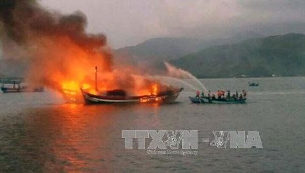 Vung Tau, fishing ship explosion, Vietnam economy, Vietnamnet bridge, English news about Vietnam, Vietnam news, news about Vietnam, English news, Vietnamnet news, latest news on Vietnam, Vietnam