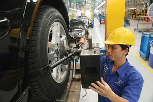 automotive components industry in indonesia and vietnam