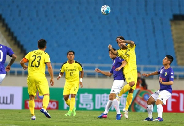 Hanoi FC draws Filipino Ceres 1-1 at AFC Cup