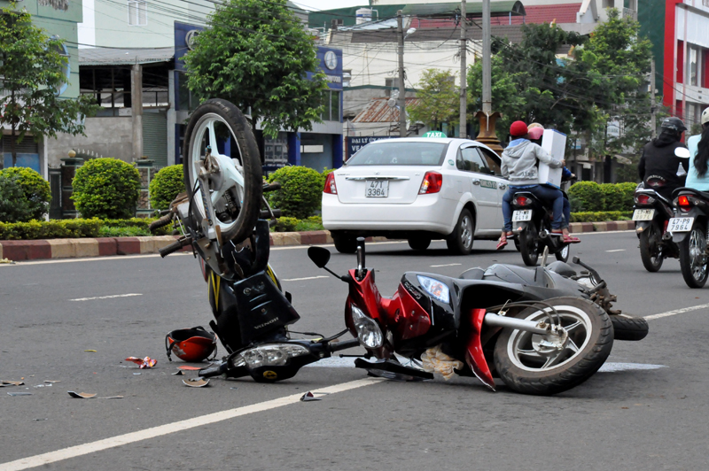 Traffic accidents sharply increase in February