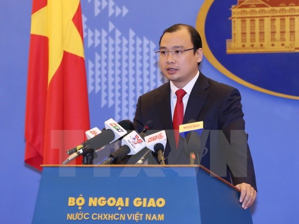 Vietnam urges responsible behaviour in East Sea, Government news, Vietnam breaking news, politic news, vietnamnet bridge, english news, Vietnam news, news Vietnam, vietnamnet news, Vietnam net news, Vietnam latest news, vn news
