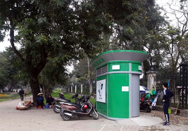Automatic public toilet, public toilets, Vietnam economy, Vietnamnet bridge, English news about Vietnam, Vietnam news, news about Vietnam, English news, Vietnamnet news, latest news on Vietnam, Vietnam