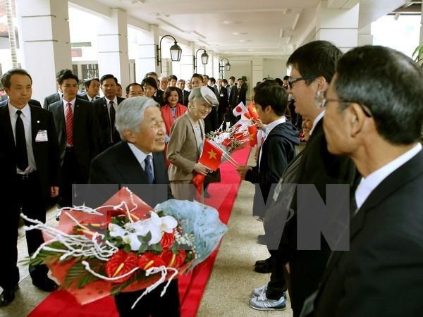 Emperor's visit to Vietnam makes Japanese media's headlines