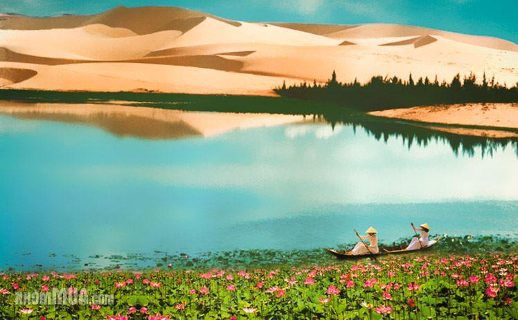 Bau Sen – An oasis in Mui Ne's sand dunes, binh thuan, phan thiet travel, travel news, Vietnam guide, Vietnam airlines, Vietnam tour, tour Vietnam, Hanoi, ho chi minh city, Saigon, travelling to Vietnam, Vietnam travelling, Vietnam travel, vn news