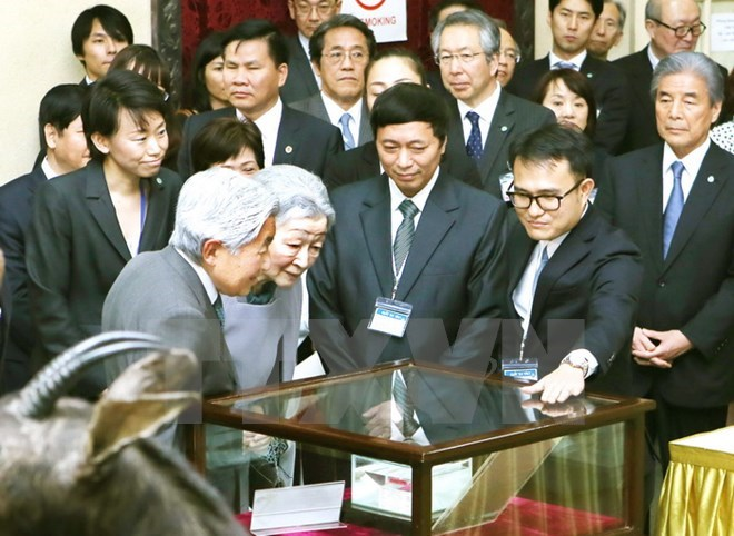 Japanese Emperor, Empress visit biology museum in Hanoi, Government news, Vietnam breaking news, politic news, vietnamnet bridge, english news, Vietnam news, news Vietnam, vietnamnet news, Vietnam net news, Vietnam latest news, vn news