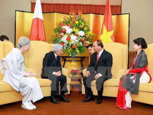 Prime Minister hails Japanese Emperor's visit as memorable landmark, Government news, Vietnam breaking news, politic news, vietnamnet bridge, english news, Vietnam news, news Vietnam, vietnamnet news, Vietnam net news, Vietnam latest news, vn news
