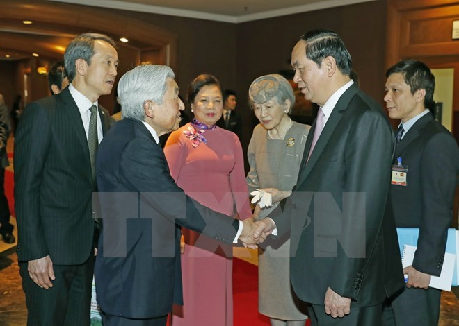 President says good-bye to Japanese royal couple, Government news, Vietnam breaking news, politic news, vietnamnet bridge, english news, Vietnam news, news Vietnam, vietnamnet news, Vietnam net news, Vietnam latest news, vn news