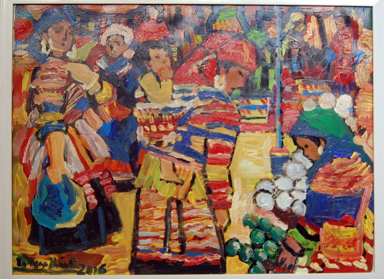 Hanoi's artists display paintings in HCM City, entertainment events, entertainment news, entertainment activities, what's on, Vietnam culture, Vietnam tradition, vn news, Vietnam beauty, news Vietnam, Vietnam news, Vietnam net news, vietnamnet news, vietn