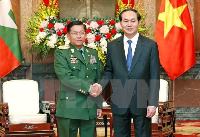 Vietnam, Myanmar boost military ties