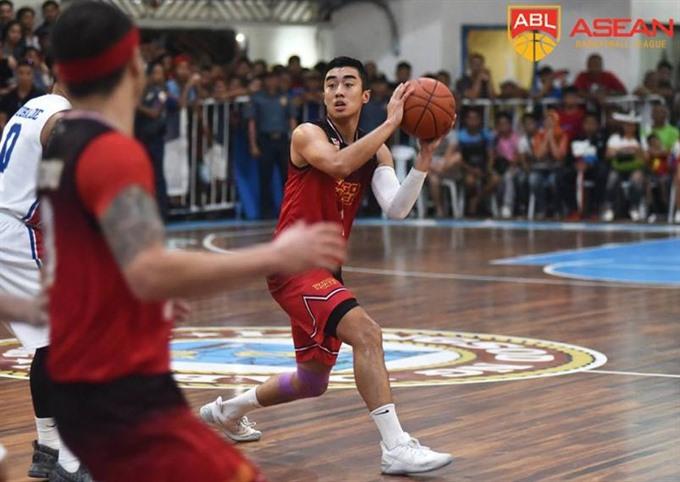 Saigon Heat beat Singapore Slingers at ABL