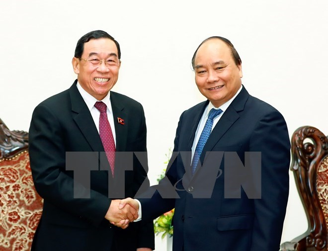 PM promises support for Laos in developing transport, Government news, Vietnam breaking news, politic news, vietnamnet bridge, english news, Vietnam news, news Vietnam, vietnamnet news, Vietnam net news, Vietnam latest news, vn news