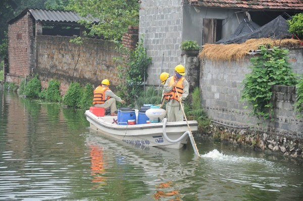 Hanoi's lakes cleaned up, environmental news, sci-tech news, vietnamnet bridge, english news, Vietnam news, news Vietnam, vietnamnet news, Vietnam net news, Vietnam latest news, Vietnam breaking news, vn news