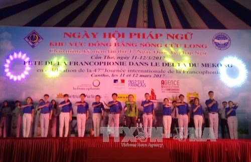The 20th Francophone Day of the Mekong Delta came back to Can Tho city on March 11-12 in celebration of the International Francophonie Day (March 20)., entertainment events, entertainment news, entertainment activities, what's on, Vietnam culture, Vietna