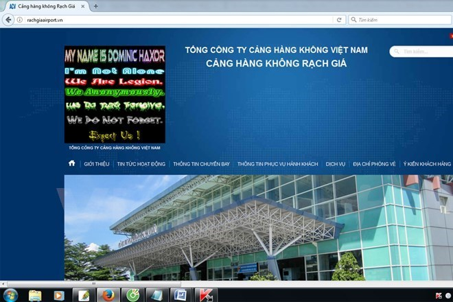 Hackers behind attacks on airport websites identified, IT news, sci-tech news, vietnamnet bridge, english news, Vietnam news, news Vietnam, vietnamnet news, Vietnam net news, Vietnam latest news, Vietnam breaking news, vn news