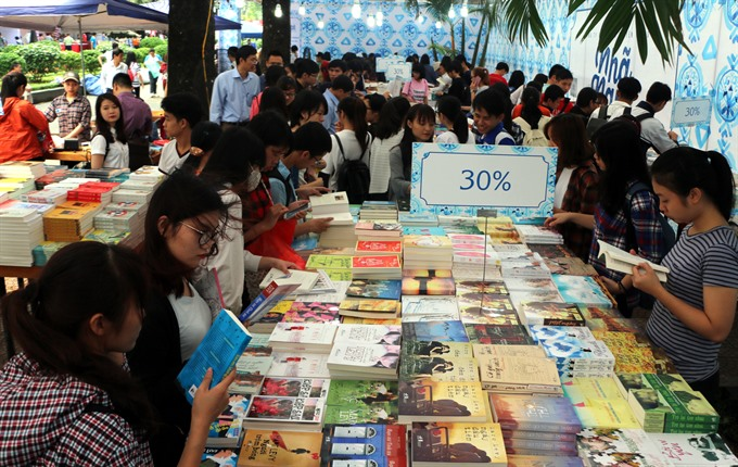 Spring Book Festival to open in Hanoi, entertainment events, entertainment news, entertainment activities, what's on, Vietnam culture, Vietnam tradition, vn news, Vietnam beauty, news Vietnam, Vietnam news, Vietnam net news, vietnamnet news, vietnamnet br