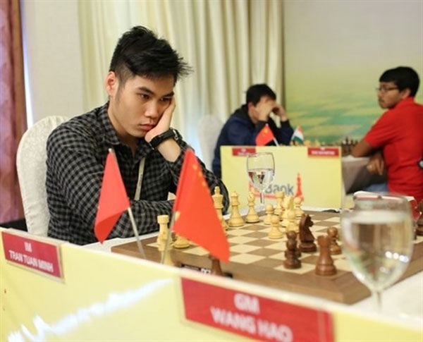 Minh, Wang share top place at int'l chess tourney in HCM City