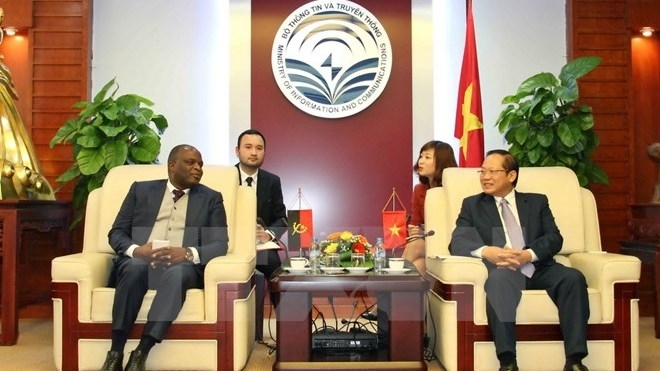 Vietnam, Angola co-operate in IT and telecommunications, IT news, sci-tech news, vietnamnet bridge, english news, Vietnam news, news Vietnam, vietnamnet news, Vietnam net news, Vietnam latest news, Vietnam breaking news, vn news