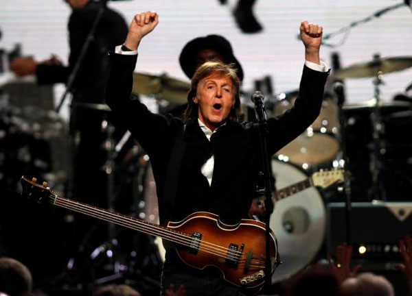 Paul McCartney, Beatles songs, U.S. copyright law, Sony/ATV