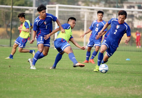 Chinese Taipei team arrive for friendly match, Sports news, football, Vietnam sports, vietnamnet bridge, english news, Vietnam news, news Vietnam, vietnamnet news, Vietnam net news, Vietnam latest news, vn news, Vietnam breaking news
