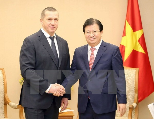 Vietnam, Russia seek to boost economic cooperation, vn-russia relations, trinh dinh dung, vn foreign affairs