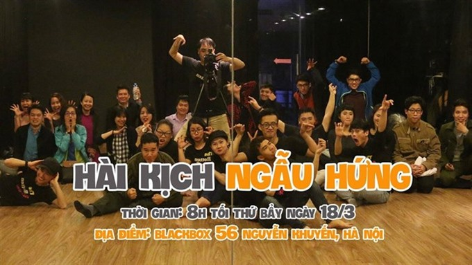 Hanoi's only English-speaking comedy club presents their show, entertainment events, entertainment news, entertainment activities, what's on, Vietnam culture, Vietnam tradition, vn news, Vietnam beauty, news Vietnam, Vietnam news, Vietnam net news, vietna