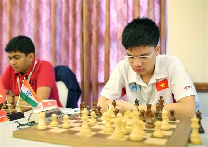 Vietnam's Khoi beats Chinese rival at HDBank chess event, Sports news, football, Vietnam sports, vietnamnet bridge, english news, Vietnam news, news Vietnam, vietnamnet news, Vietnam net news, Vietnam latest news, vn news, Vietnam breaking news