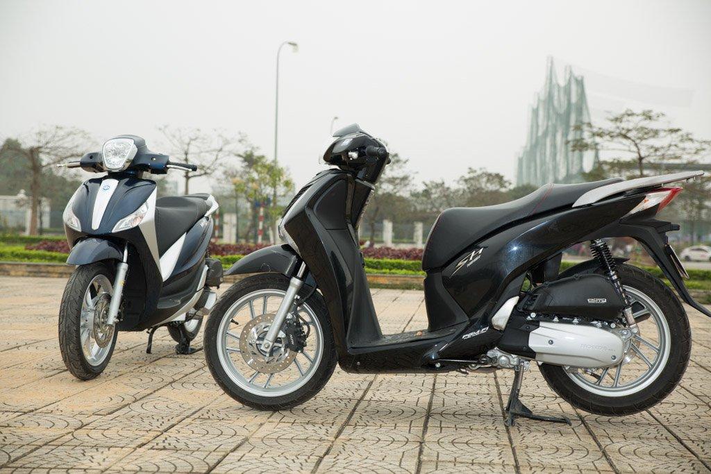 Luxury scooters the future of Vietnam's motorbike market