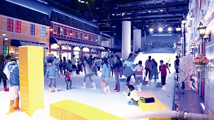 Snow Town – a new entertainment venue in HCM City, entertainment events, entertainment news, entertainment activities, what's on, Vietnam culture, Vietnam tradition, vn news, Vietnam beauty, news Vietnam, Vietnam news, Vietnam net news, vietnamnet news, v