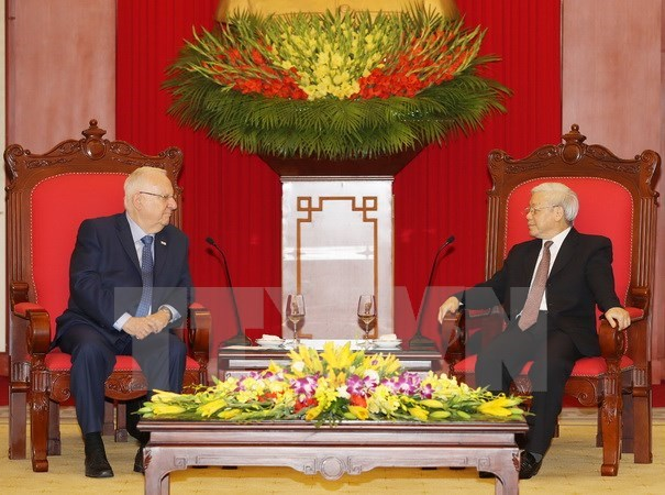 Israeli President wants to expand cooperation with Vietnam, Government news, Vietnam breaking news, politic news, vietnamnet bridge, english news, Vietnam news, news Vietnam, vietnamnet news, Vietnam net news, Vietnam latest news, vn news